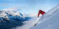 Skifahrer über dem Nebelmeer - Banff