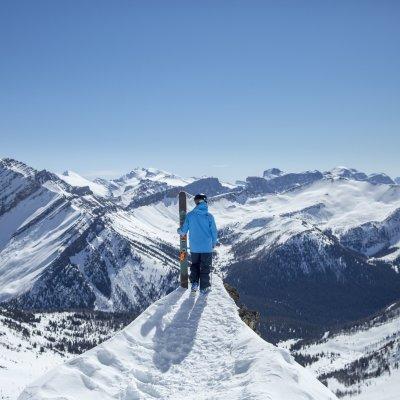 Ausblick in Banff