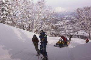 Schneemobiltour Par Pow Paradise