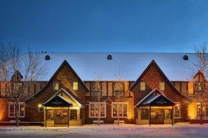 The Wort Hotel im Winter