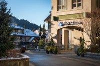 Whistler Peak Lodge Exterior Front Day