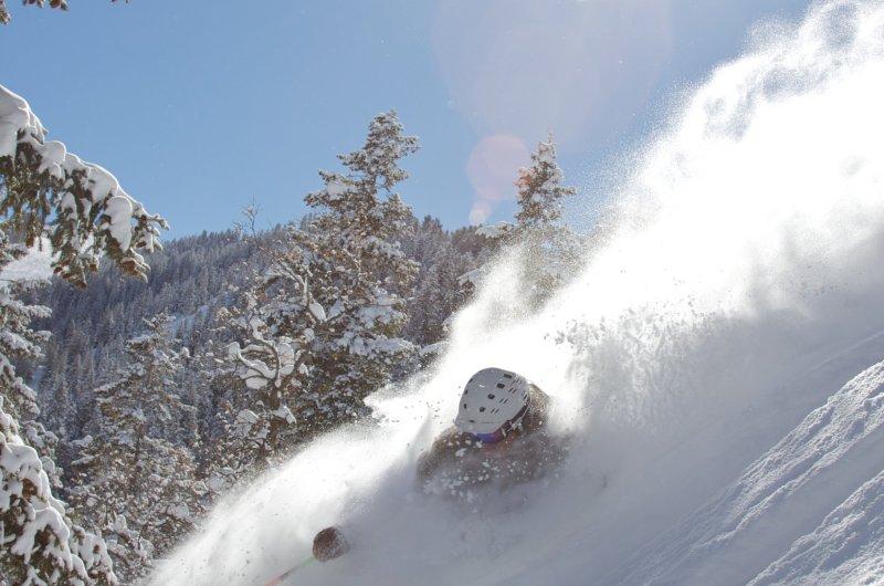 Tiefschschneespass in Aspen