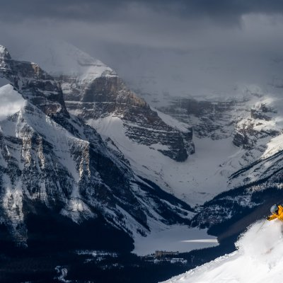Ski Snowboard Lake Louise Reuben Krabbe