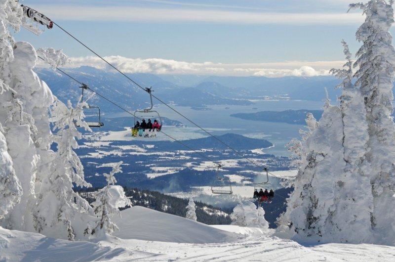Schweitzer Mountain Resort - Great Escape View