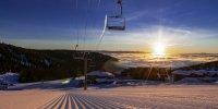 Schweitzer Mountain Resort - Sonnenaufgang