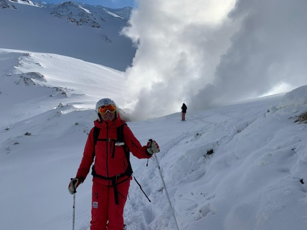 Mutnovsky Vulkan Kamtschatka