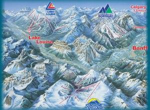 Karte: Tri Area Banff