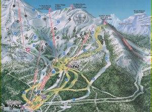 Karte: Lake Louise
