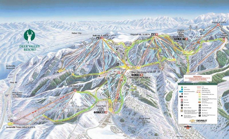 Karte: Deer Valley