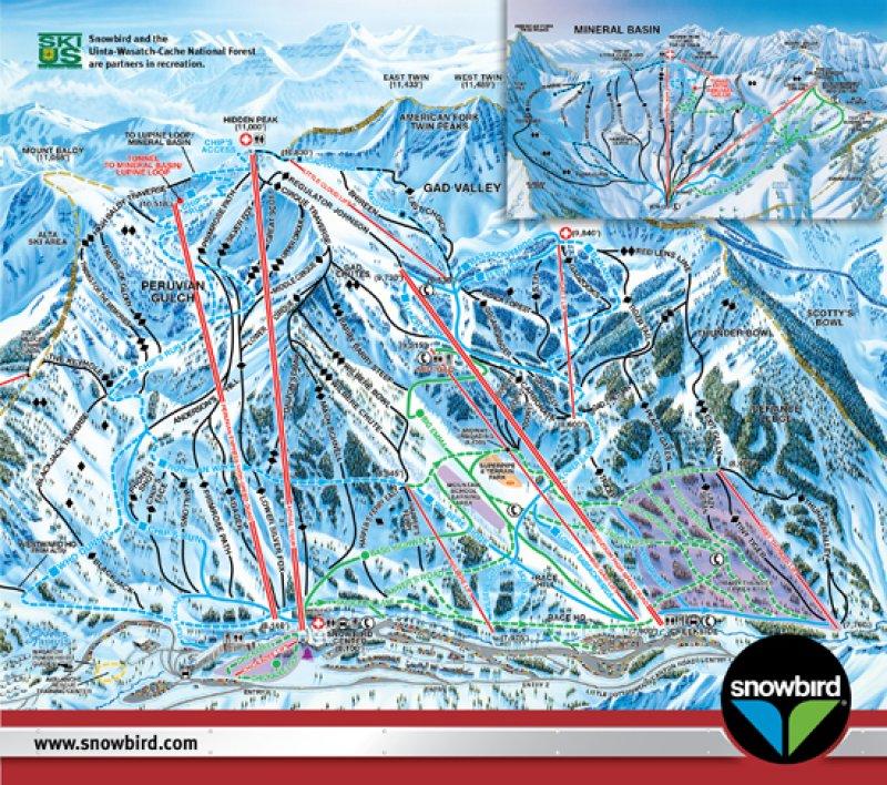 Karte: Snowbird