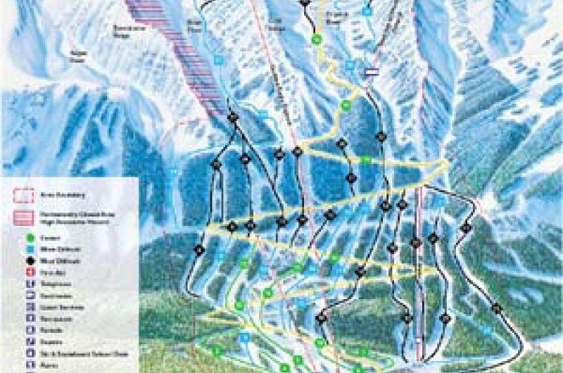 Karte: Kicking Horse