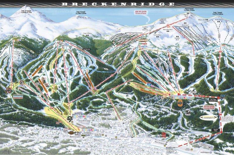 Karte: Breckenridge