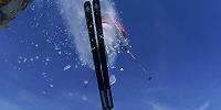 Skifahrer Gold Hild Cliff