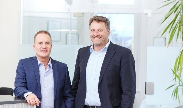 Wolfgang Schickewitz und Christian Ricken