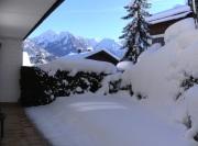 Bergblick von Terrasse