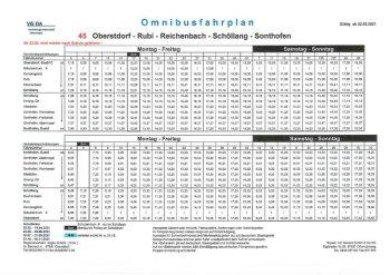 Bus Oberstdorf - Reichenbach Sommer 2021