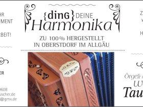 Harmonika Tauscher Anzeige