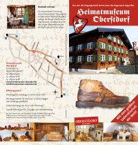 Flyer Heimatmuseum Oberstdorf 2019