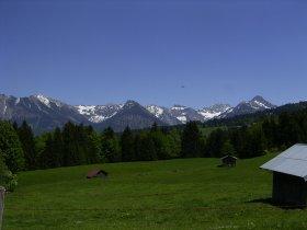 Blick von Tiefenbach