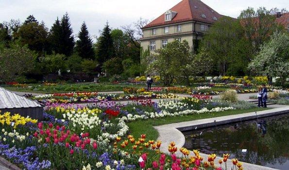 Augsburg botanischer garten
