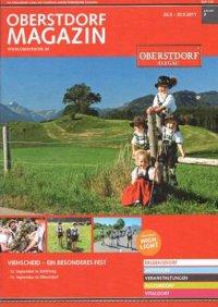 Titelseite des Oberstdorfer mit Reichenbacher Kindern in Tracht