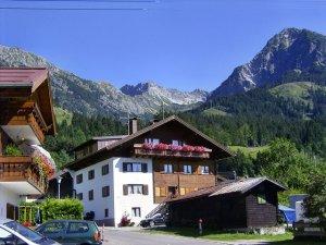 Bergan Richtung Nebelhorn