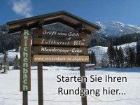 Winterzauber - Rundgang