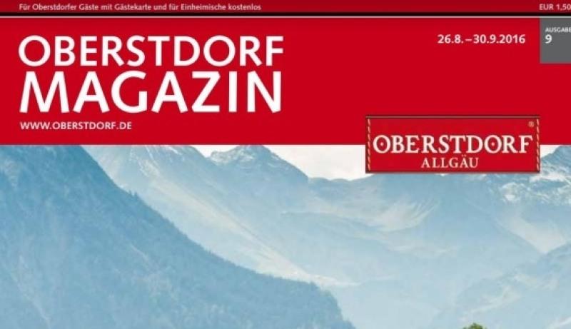 Oberstdorf Magazin Titel