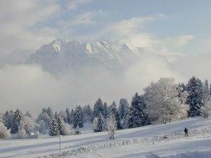 Nebelhornblick - auch im Winter atemberaubend