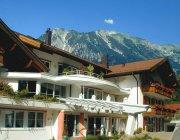 Nebelhornblick direkt vom Hotel aus