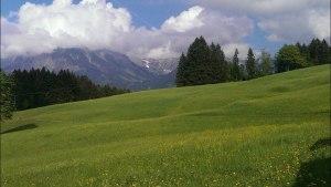Bergblick vom Söllereck aus