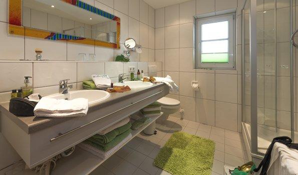 Doppelwaschtisch Badezimmer