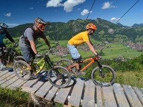 Bad Hindelang Tourismus Wolfgang B. Kleiner BikePark2