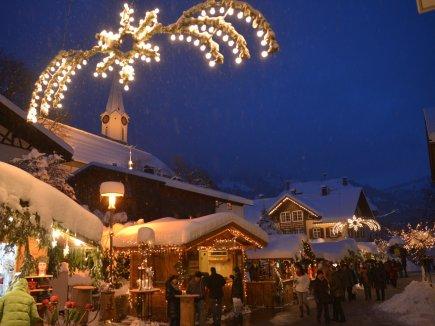 Bad Hindelang Tourismus Wolfgang B. Kleiner Weihnachtsmarkt