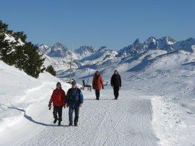 Winterwandern am Ifen