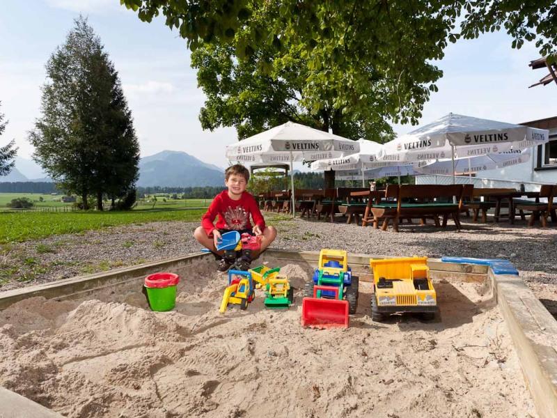 cool ein Sandkasten