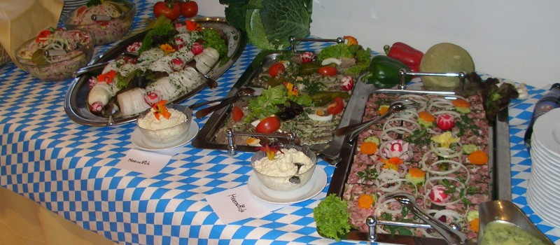 Rustikales Brotzeit Buffet