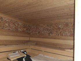 das neue Sanarium (Bio-Sauna mit 60°C)
