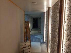 Neuer separater Eingang zum Saunabereich