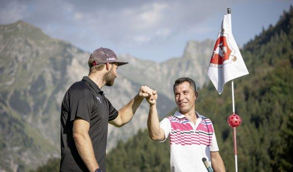 Golfen unter Freunden im GC Oberstdorf