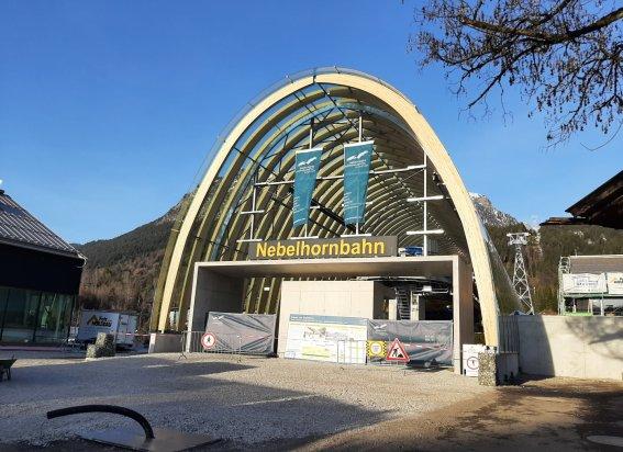 Neue Nebelhornband-Talstation