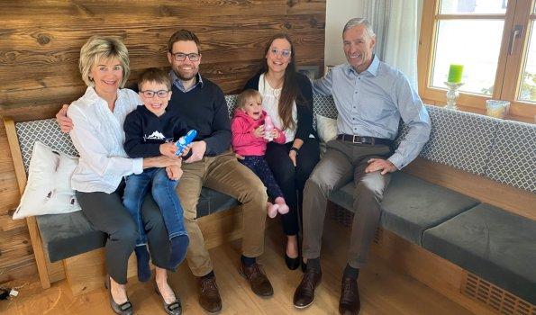 Familie Fischer Ostern 2021