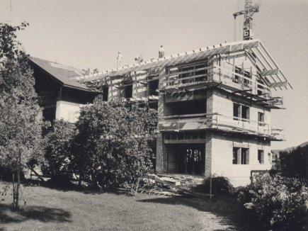 Der Anbau 1963