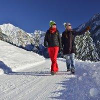Winterwandern auf drei Höhenlagen