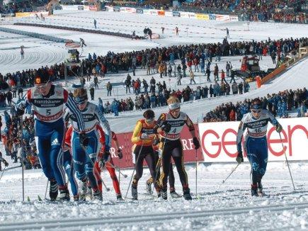 Tour de Ski im Langlaufstadion Ried