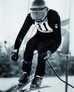 Peter bei den Olympischen Spiele in Innsbruck 1976