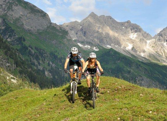 Mountainbiken im Oytal