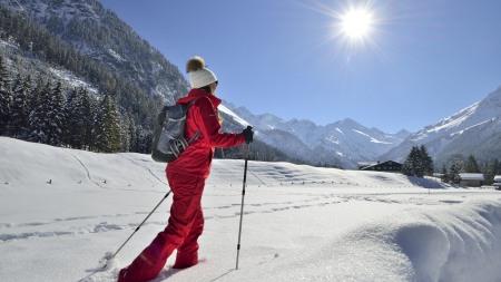 Winterwandern im Stillachtal