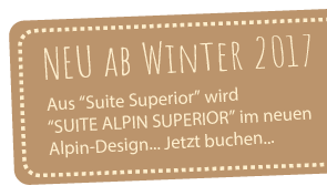 Banner Webseite Suite Alpin Superior