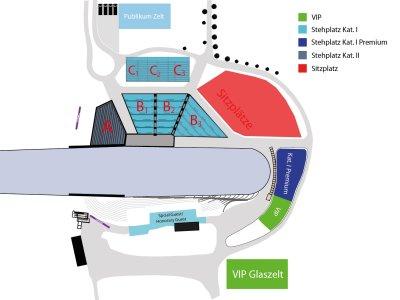 Stadionplan Skiflug-WM